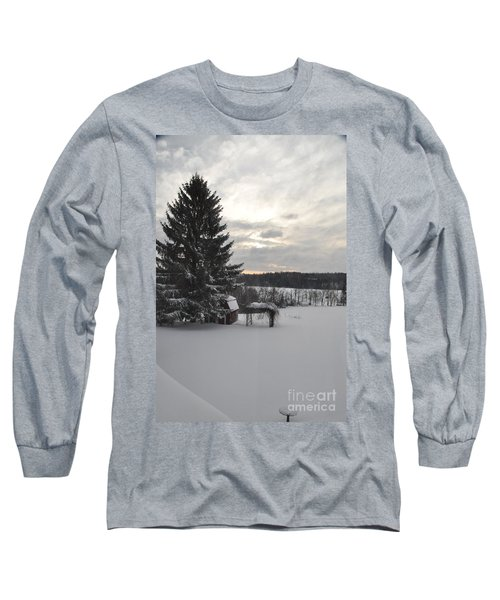 Winter Sunset - 2 Long Sleeve T-Shirt