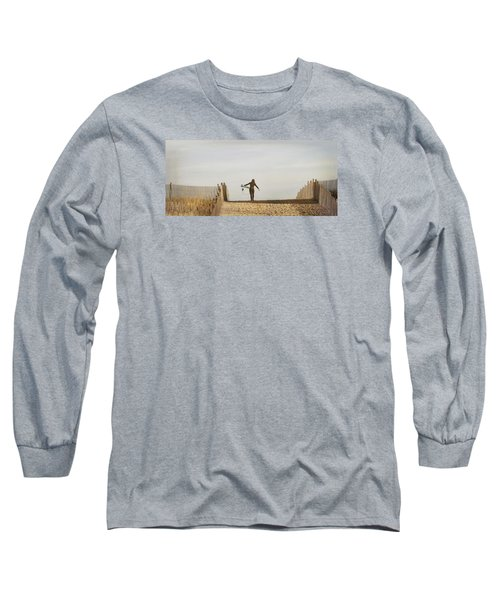 Winter Surfing Long Sleeve T-Shirt