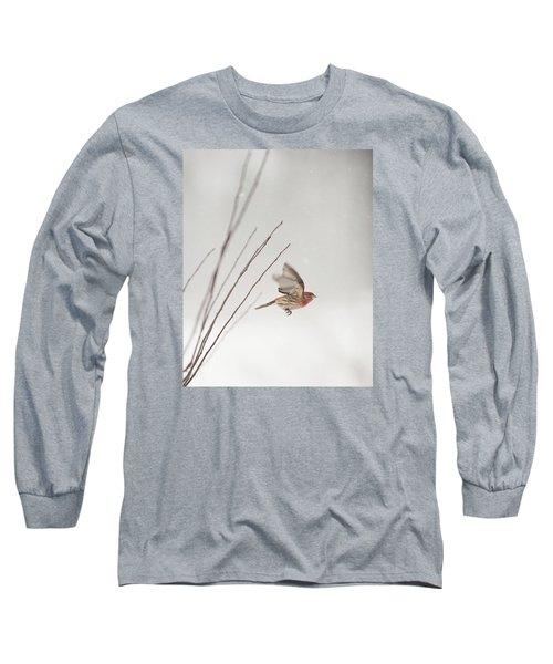 Winter Wind Surfing 1 Long Sleeve T-Shirt