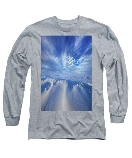 Long Sleeve T-Shirt featuring the photograph Winter's Hue by Phil Koch