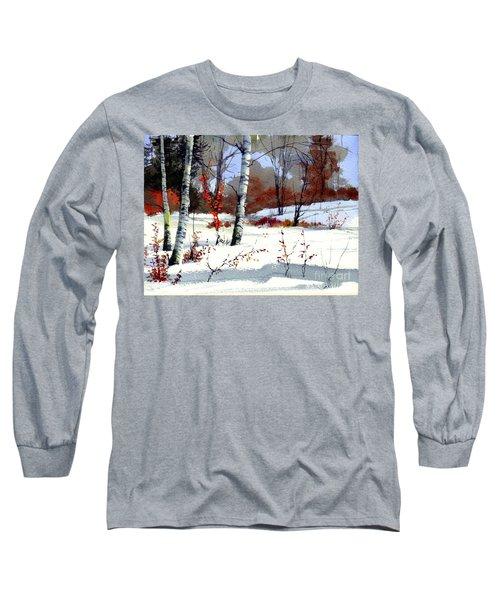 Wintertime Painting Long Sleeve T-Shirt