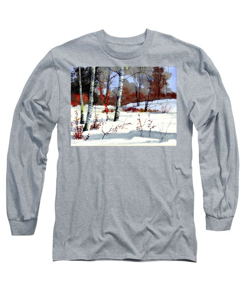 Wintertime Painting Long Sleeve T-Shirt