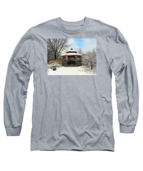 Wintertime Long Sleeve T-Shirt by Teresa Schomig