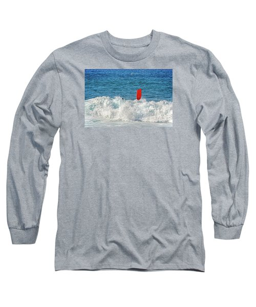 Long Sleeve T-Shirt featuring the photograph Wipe Out by David Lawson