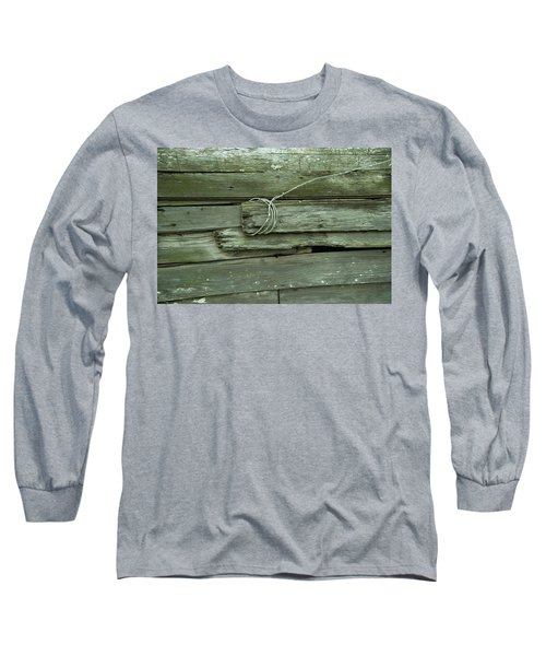Wired House Siding Long Sleeve T-Shirt