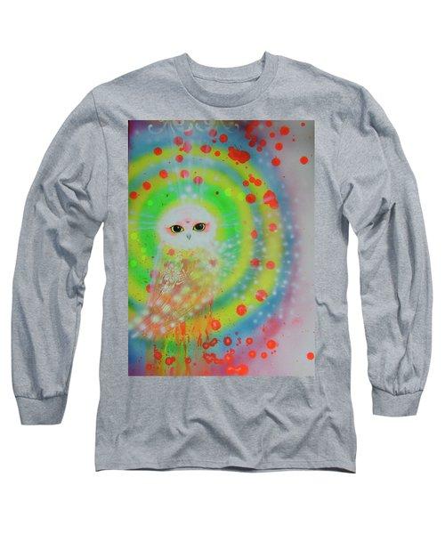 Wisdom Of  The Owl  Long Sleeve T-Shirt