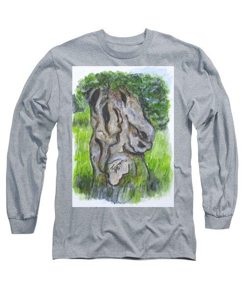 Wisdom Olive Tree Long Sleeve T-Shirt