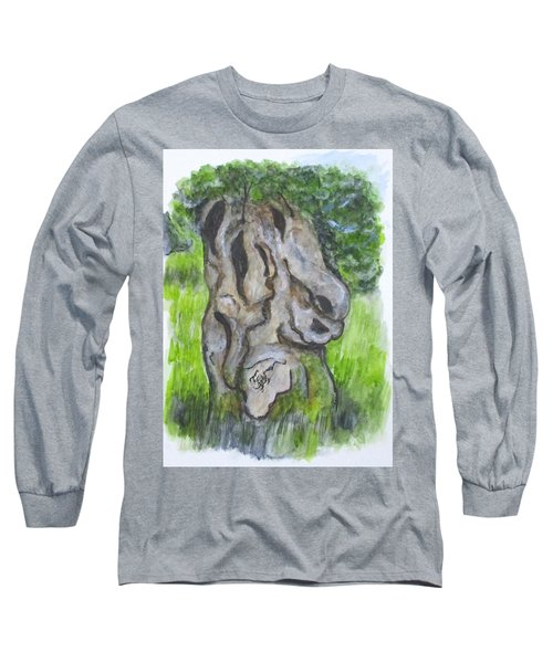 Wisdom Olive Tree Long Sleeve T-Shirt
