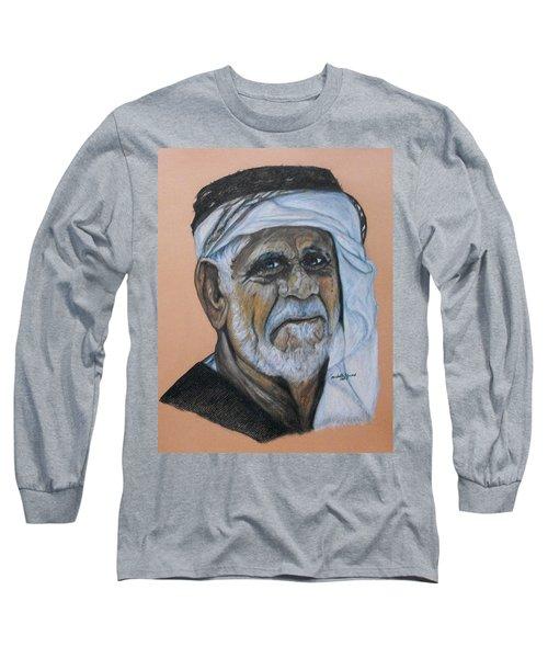 Wisdom Portrait Long Sleeve T-Shirt