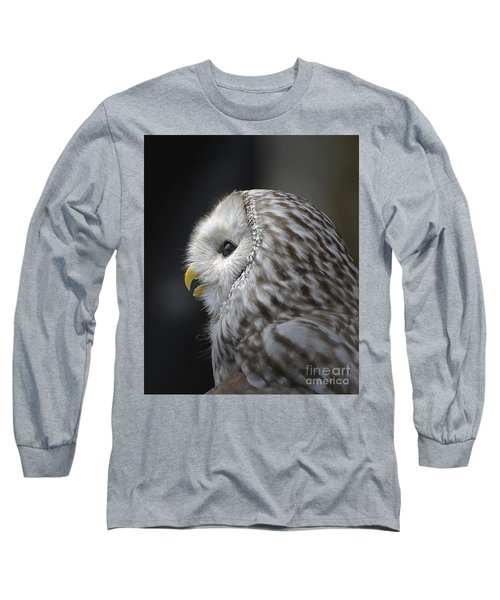 Wise Old Owl Long Sleeve T-Shirt by Kathy Baccari