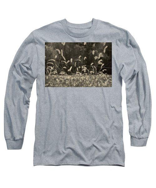 Wispy Long Sleeve T-Shirt by Joanne Coyle