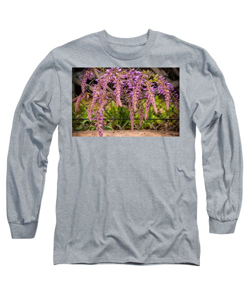 Wisteria Blooming Long Sleeve T-Shirt