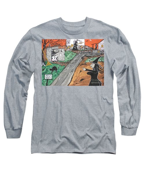 Witches Outhouse Long Sleeve T-Shirt