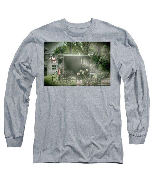 With Deep Respect Long Sleeve T-Shirt