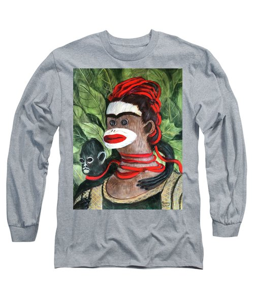 With Love To The Artist Frida Kahlo Long Sleeve T-Shirt