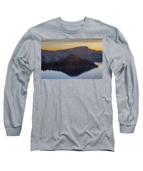 Wizard Island Morning Long Sleeve T-Shirt
