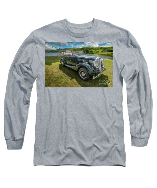 Long Sleeve T-Shirt featuring the photograph Wolseley Classic Car by Adrian Evans