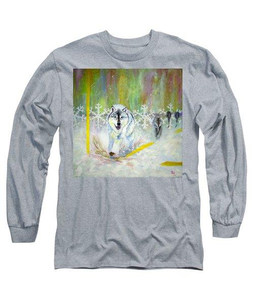 Wolves Approach Long Sleeve T-Shirt