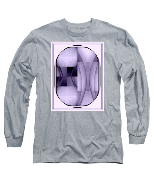 Woman Image Four Long Sleeve T-Shirt by Jack Dillhunt