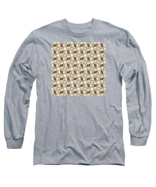 Woman Image Nine Long Sleeve T-Shirt by Jack Dillhunt