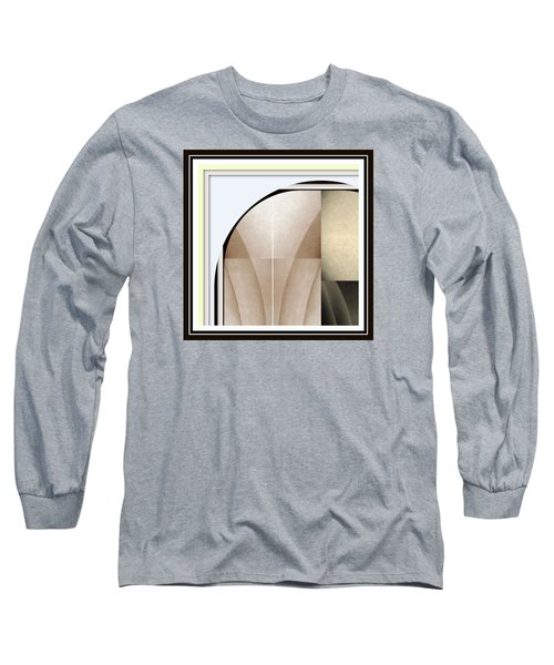 Woman Image Two Long Sleeve T-Shirt by Jack Dillhunt