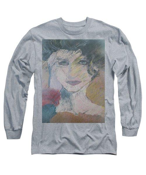 Woman's Portrait - Untitled Long Sleeve T-Shirt