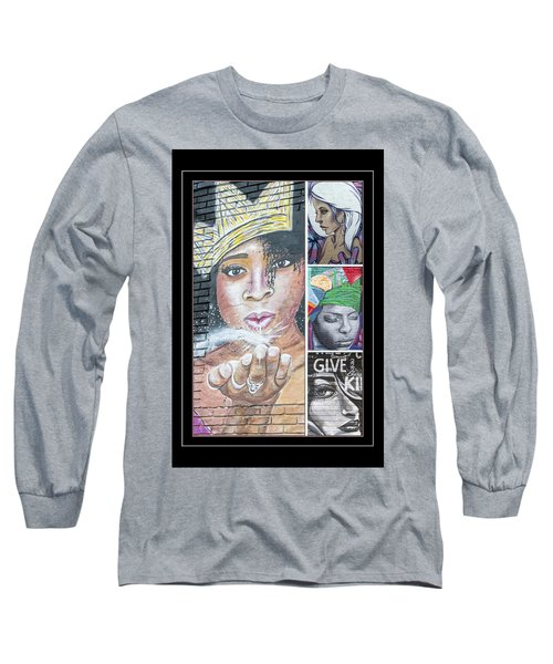 Collage Of Women Long Sleeve T-Shirt