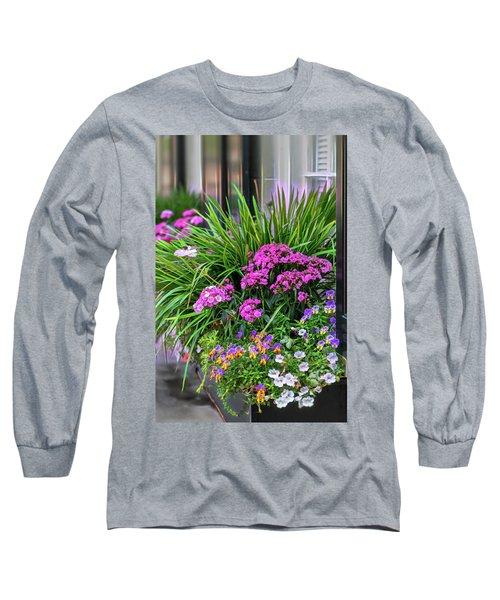 Wonderful Window Boxes Of Charleston Long Sleeve T-Shirt