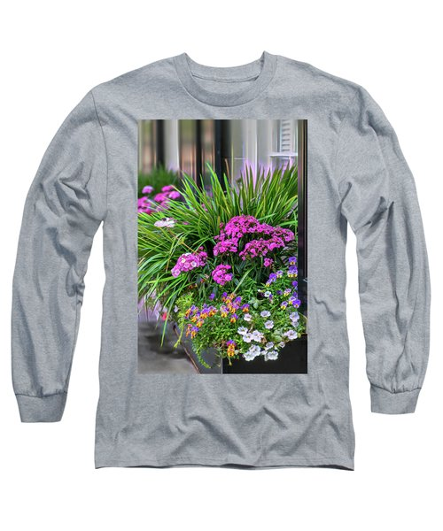 Wonderful Window Boxes Of Charleston Long Sleeve T-Shirt