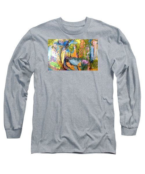 Wondering In The Garden Long Sleeve T-Shirt