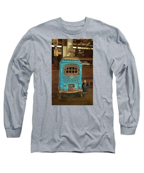 Wood Burning Heater Long Sleeve T-Shirt