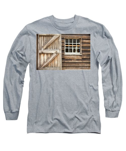 Wood Door And Window Long Sleeve T-Shirt