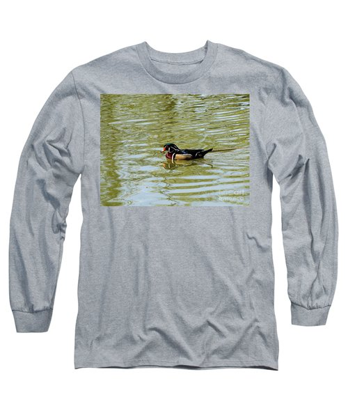 Wood Duck Long Sleeve T-Shirt