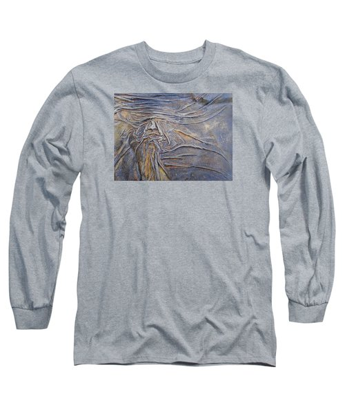 Wood Face  Long Sleeve T-Shirt