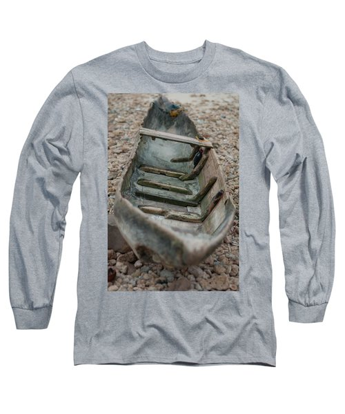 Wooden Boat1 Long Sleeve T-Shirt