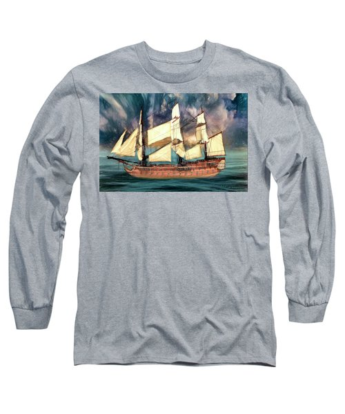 Wooden Ship Long Sleeve T-Shirt
