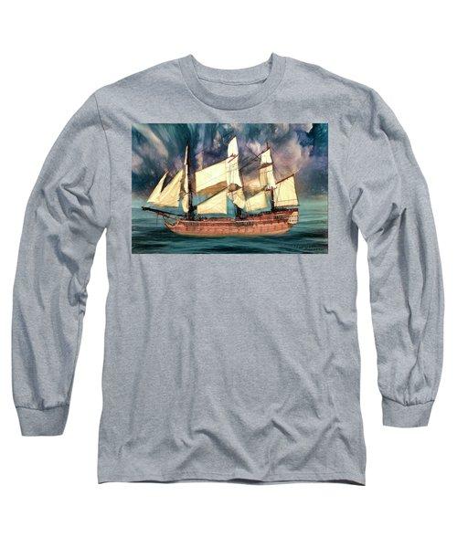 Wooden Ship Long Sleeve T-Shirt