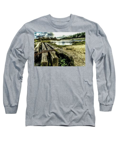 Long Sleeve T-Shirt featuring the photograph Woodside by Nick Bywater
