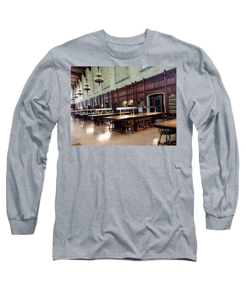 Woodwork Long Sleeve T-Shirt by Joseph Yarbrough