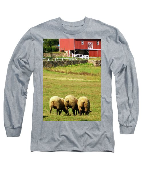 Wooly Bully Long Sleeve T-Shirt by Trish Tritz