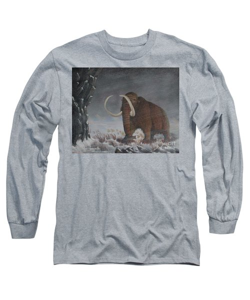 Wooly Mammoth......10,000 Years Ago Long Sleeve T-Shirt