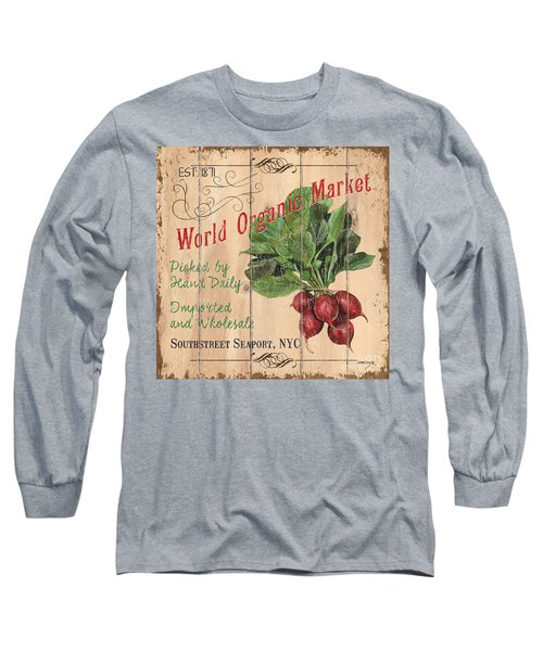 World Organic Market Long Sleeve T-Shirt