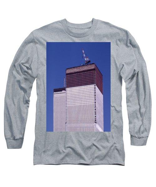 World Trade Center Under Construction Long Sleeve T-Shirt