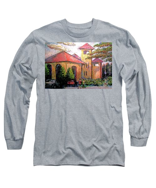 Worlds Fair Pavilion In Forest Park Long Sleeve T-Shirt