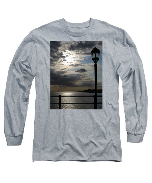 Worthing Seafront From The Pier Long Sleeve T-Shirt by John Topman
