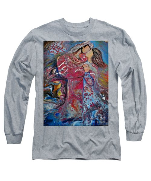 Wrapped In Your Love Long Sleeve T-Shirt