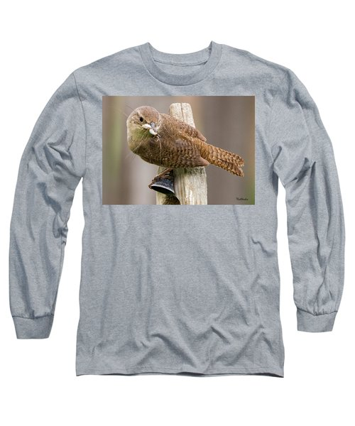 Wren Ringing The Dinner Bell Long Sleeve T-Shirt