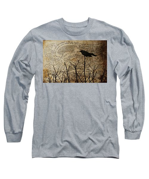 Long Sleeve T-Shirt featuring the photograph Written On The Wind by Jan Amiss Photography