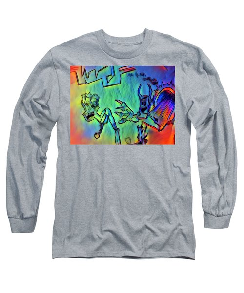 Wtf Eugene Bucks Long Sleeve T-Shirt