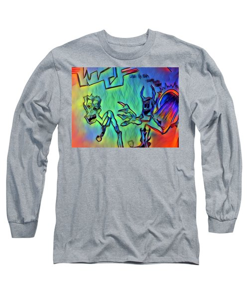Wtf Eugene Bucks Long Sleeve T-Shirt